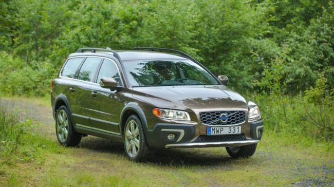 Volvo är i topp bland tjänstebilarna.