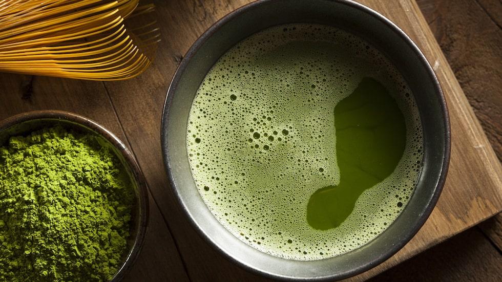 Grönt te är en favorit i stora delar av Asien.