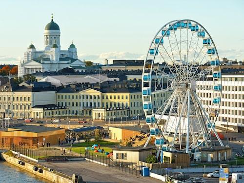 Se Helsingfors från ovan med Skywheel.