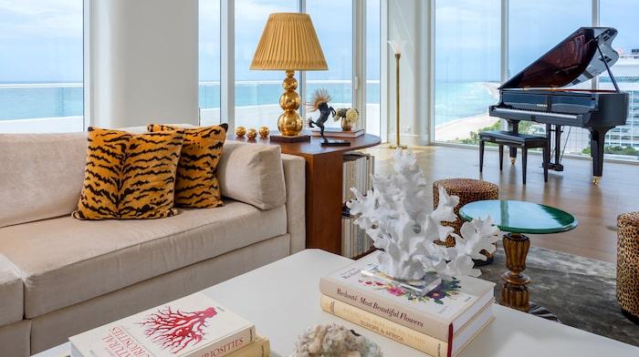 Hotellet ligger vid Miami Beach.