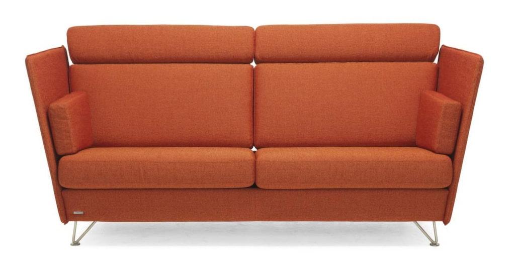Orange modulmodell<br>Byggbar soffa Noor i tyg Dock, 209 centi- meter bred, 14 620, Svenska hem.