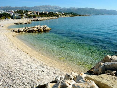 Vid Split kan du njuta av fina bad