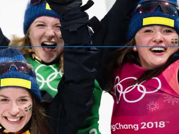 Här är det svenska skidskyttelandslaget