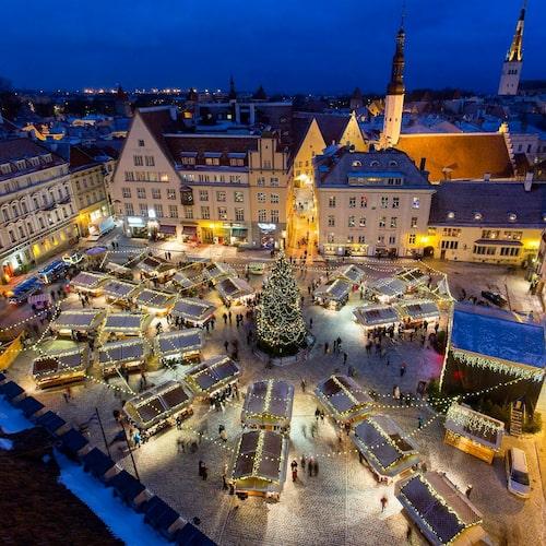 Den magiska julmarknaden i Estland är prisbelönad och välbesökt.