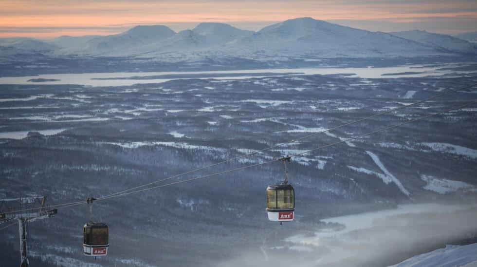 Liftarna på Åreskutan.