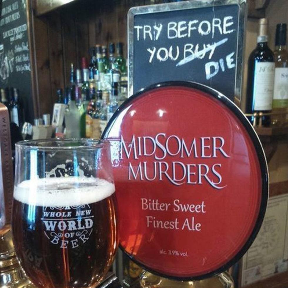 En pub har skapat en Midsomer Ale – en öl för dig som vill uppleva Midsomer till max.