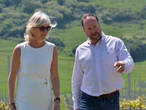 Sarah och Mark Driver har som mål att sätta Sussex på vinets världskarta.