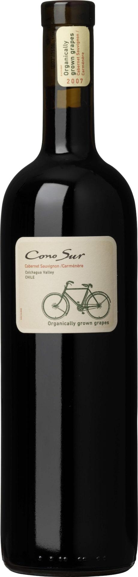 RöttCono Sur Cabernet Sauvignon Carmenere 2013 (6586) Chile, 91 krSmidigt och följsamt med toner av vinbär och örter. Gärna till gnocchi med rostad skinka och brynt smör.
