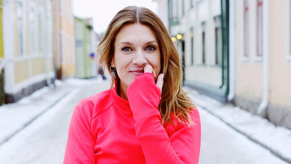 Erika Kits Gölevik visar sina bästa övningar.