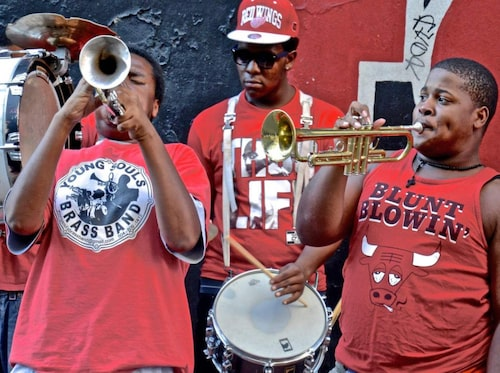 De franska kvarteren är det äldsta området i New Orleans.