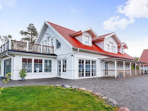 Ranch-liknande hus i Trollhättan.