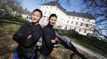 Tränarduo. Mårten Nylén och Tanja Djelevic avslöjar sina bästa livs-stils- och peppningstips.