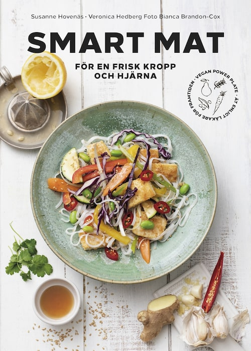 """Boken """"Smart mat för en frisk kropp och hjärna""""."""