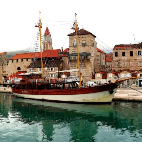 Det är inte svårt att förstå varför Trogir finns med på UNESCO:s världsarvslista.