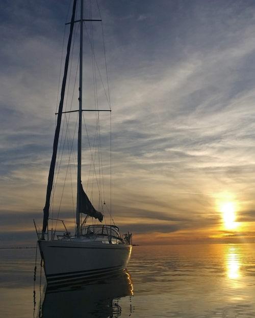 I påsk ska paret segla till Karibien med båten och vara borta i ett och ett halvt år.