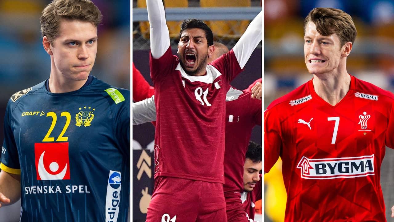 Klart: Här är Sveriges motstånd i slutspelet