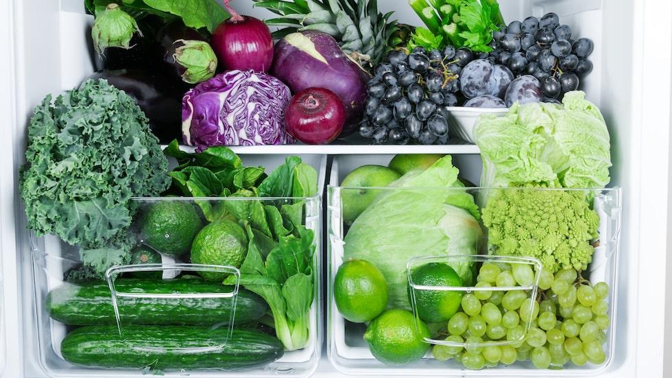 Tänk på var och hur du förvarar dina grönsaker – så håller de längre.