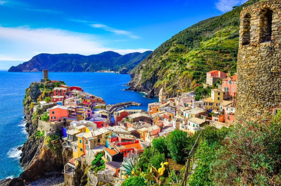 Cinque Terre begränsar antalet turister som tillåts på ett år.