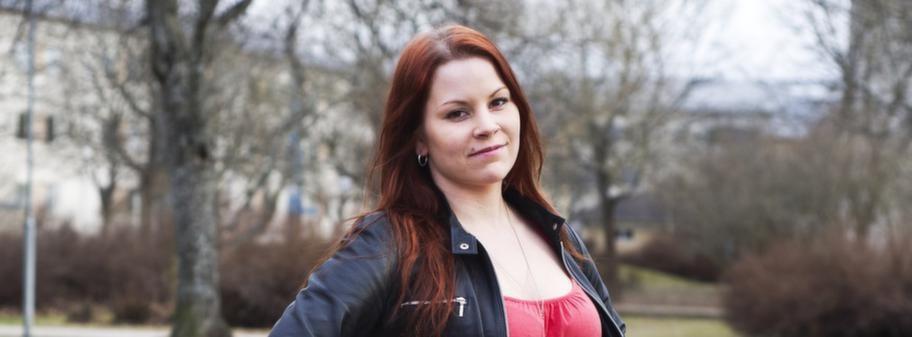 Piggare. Amanda Engström, 22, från Sala har ätit enligt LCHF och druckit kaffe varje dag sedan januari och har nu gått ner 15 kilo på drygt tre månader.