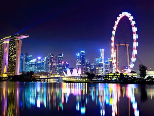 Singapore Flyer är det högsta pariserhjulet i Asien.