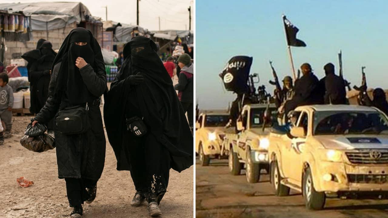 Västsvensk IS-kvinna utreds för krigsbrott i Syrien – åkte till landet med fem barn