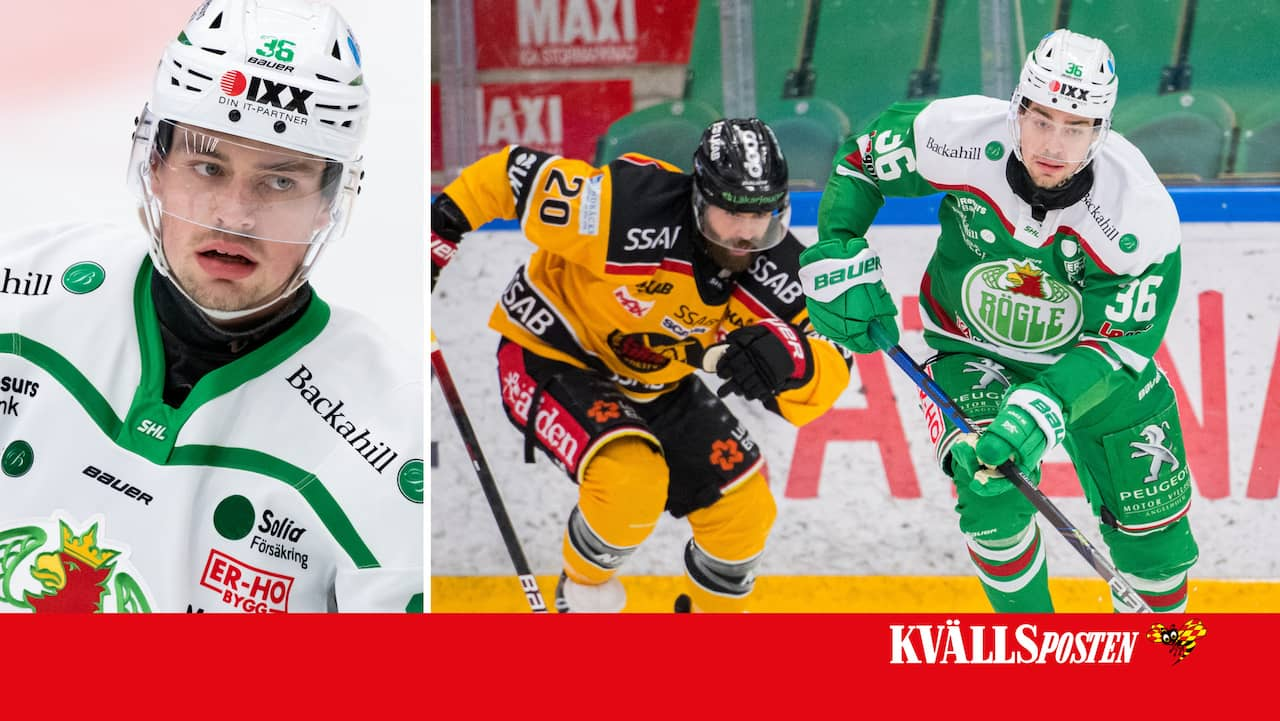 """21 • Filip Karlsson kan gjort sista matchen i Rögle: """"Vi får se"""""""
