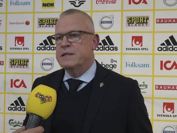 """Janne Andersson: """"Det är en intressant trupp"""""""