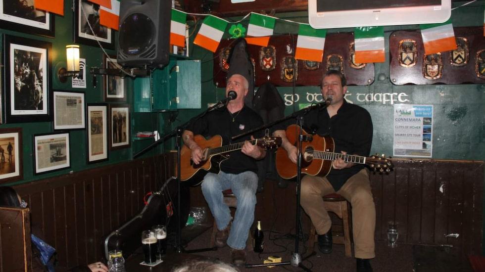 Pubsång i Galway.