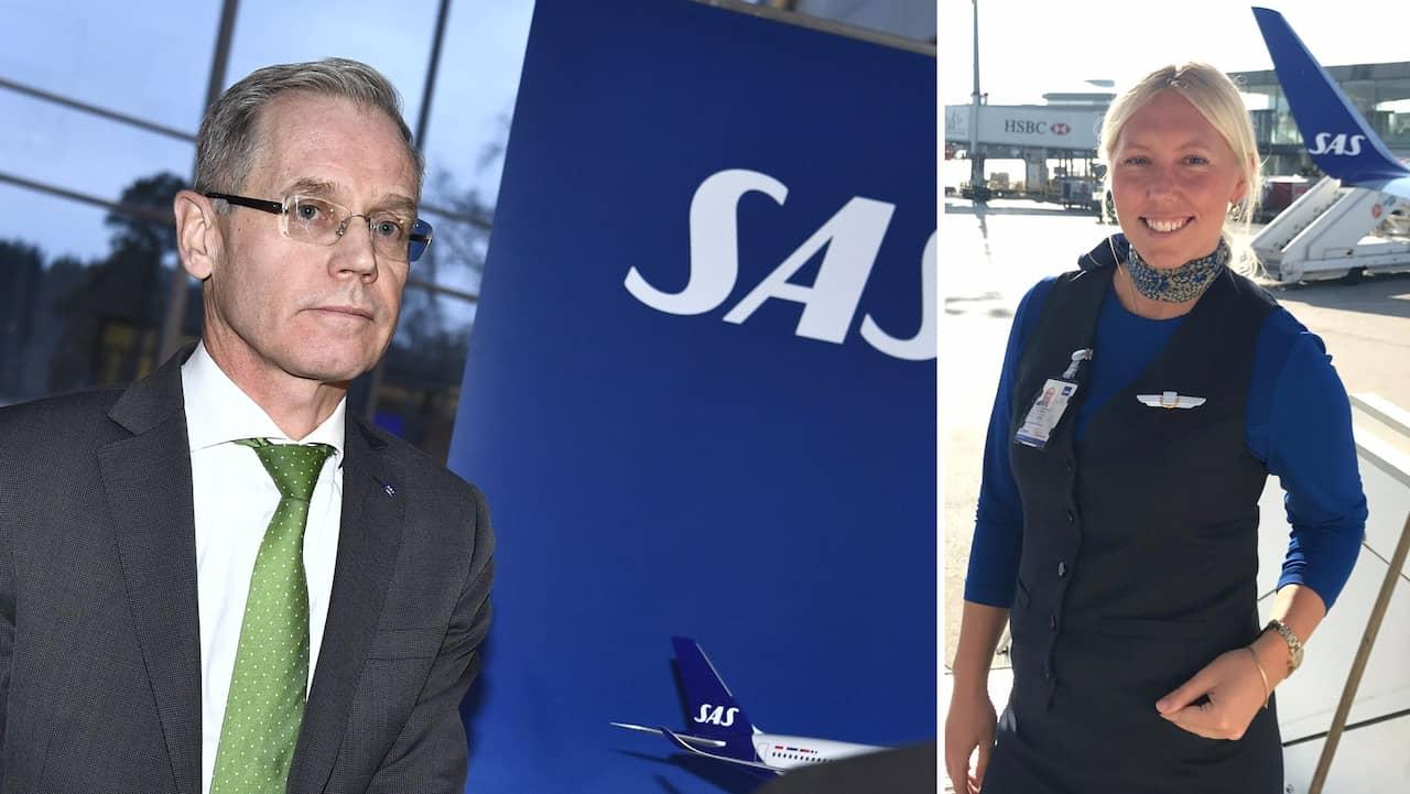 SAS-personalens ilska mot ledningens besked