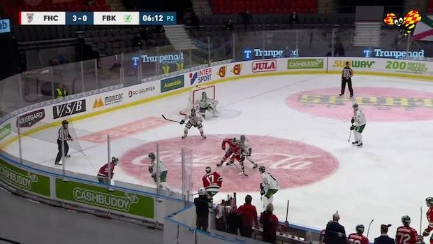 Highlights: Frölunda malde ner Färjestad