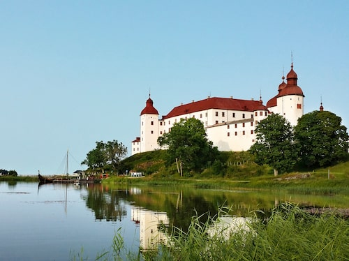 Läckö slott ligger längst ut på Kållandsö.