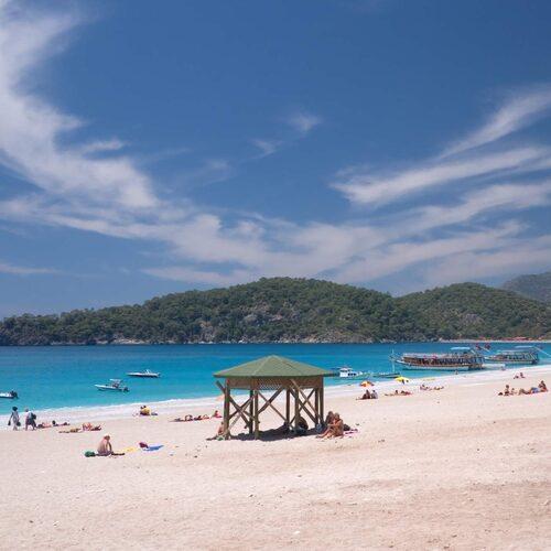 Turkiets mest fotograferade strand i Ölüdeniz