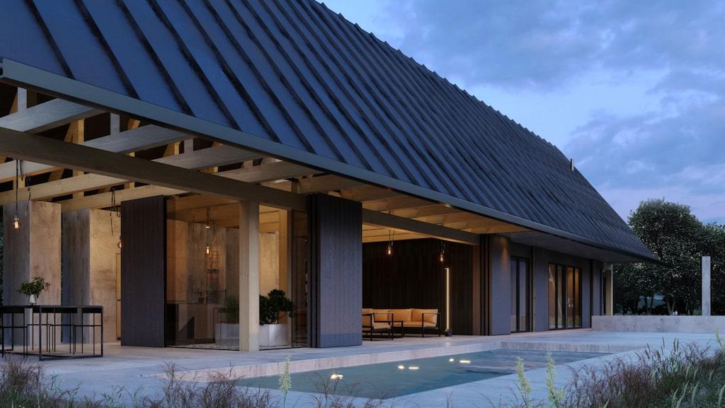"""Vissa kan nog känna igen det här huset på södra Gotland – det var nämligen med i första avsnittet av """"Grand Designs Sverige"""" på TV4."""