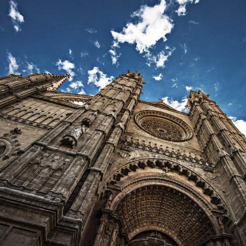 Den gotiska katedralen La Seu.