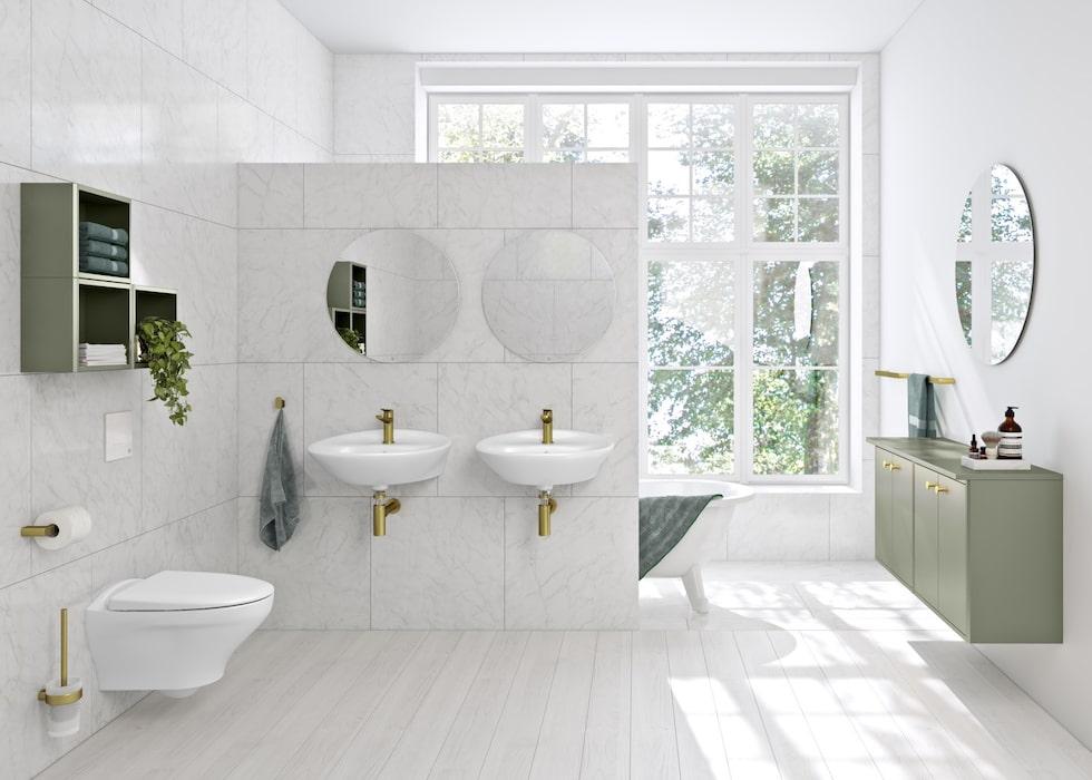 Epic från Gustavsberg är en blandare som sticker ut både i design och funktion.