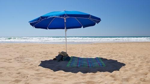 Strand i Cádiz.