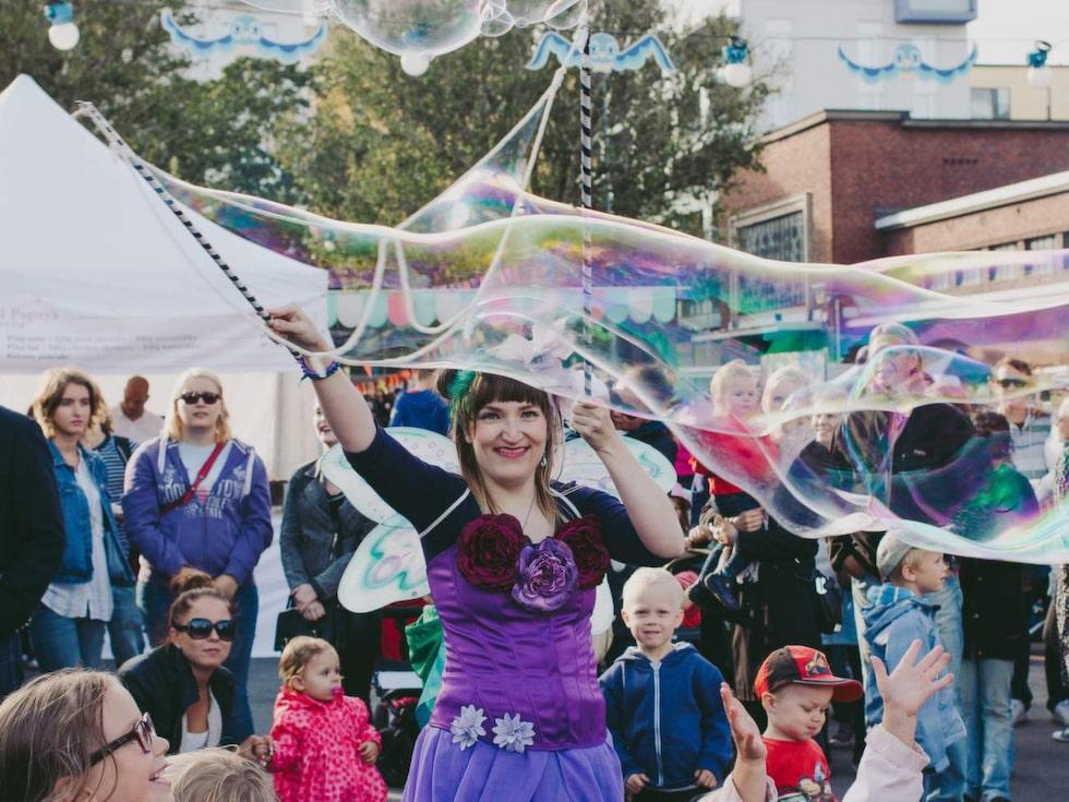 På Slakthusgården anordnas festivaler och marknader.