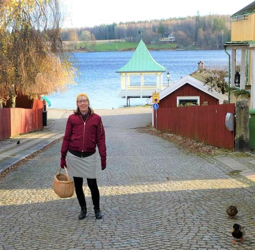 Häng med på en Norapromenad med guiden Magdalena Persson.