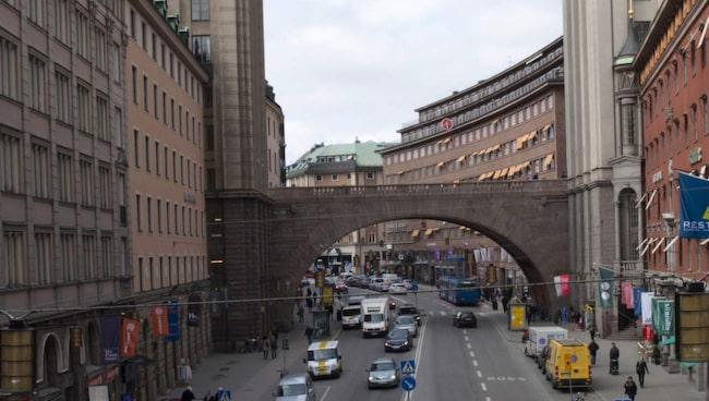 Kungsgatan i Stockholm.