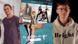 Män som tjänar på e-handel med feministiska budskapen