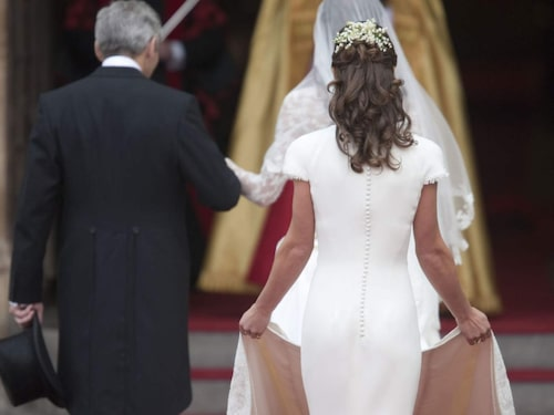 Pippa Middletons bakdel blev en stor snackis i samband med Kate och Williams bröllop 2011.