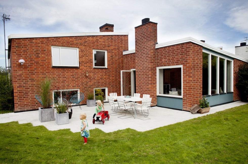 Arkitekten vann en tävling på 50-talet med huset.