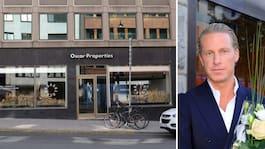 Razzia mot Oscar Properties kontor i Stockholm