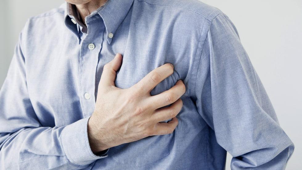 En tyst hjärtinfarkt kan leda till diffusa symptom.