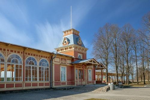 En tågstation ur sagorna, Haapsalu station.