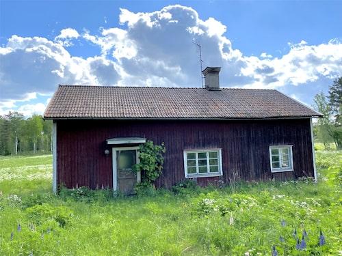 1800-talshuset som saknade en vägg och hade varit övergiven i 40 år.