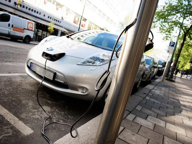 Bästa valet är eldrivna fordon, enligt Energimyndigheten.