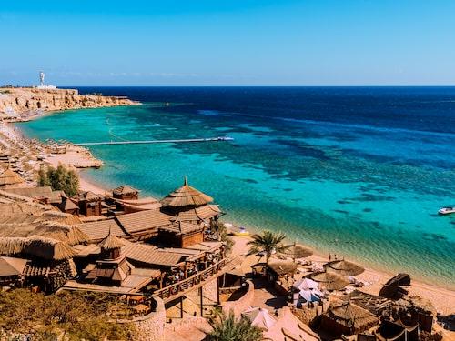 I Sharm El Sheikh finns femstjärniga hotell för 900 kronor natten.