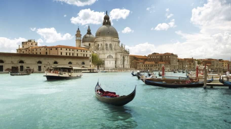 Fantastiska Venedig.