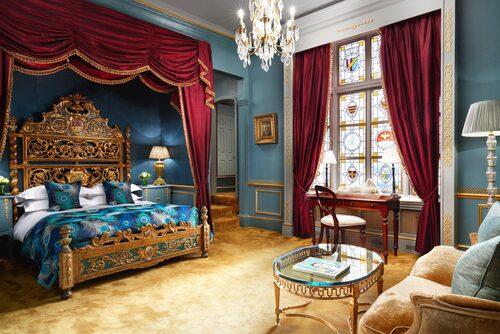 I Judy Garland-sviten på The Gore sover man i filmstjärnans gamla säng.